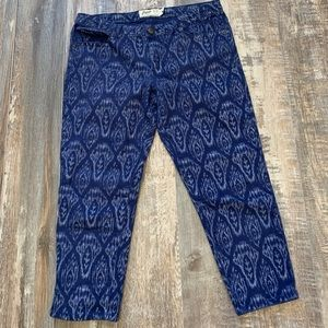 🌻3/20 ROOTS capris jeans in great condition